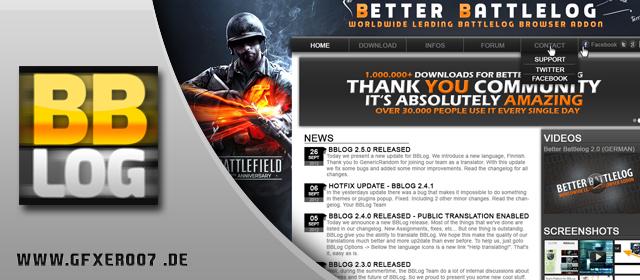 Speedart: Better Battlelog Website Design Contest