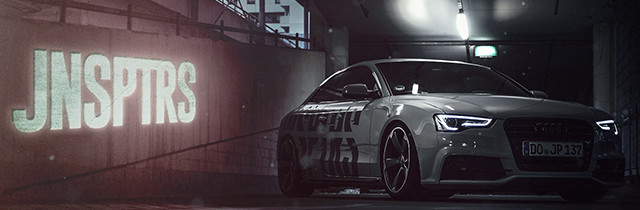 JNSPTRS – Audi A5 (unoffical) – Google Chrome Theme