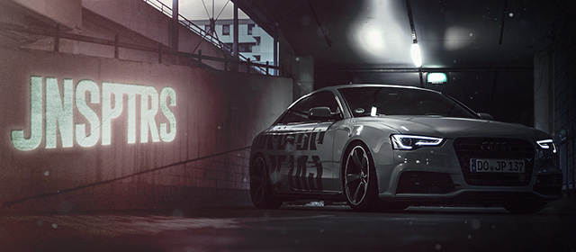 JNSPTRS – Audi A5 (unoffical) – Google Chrome Theme